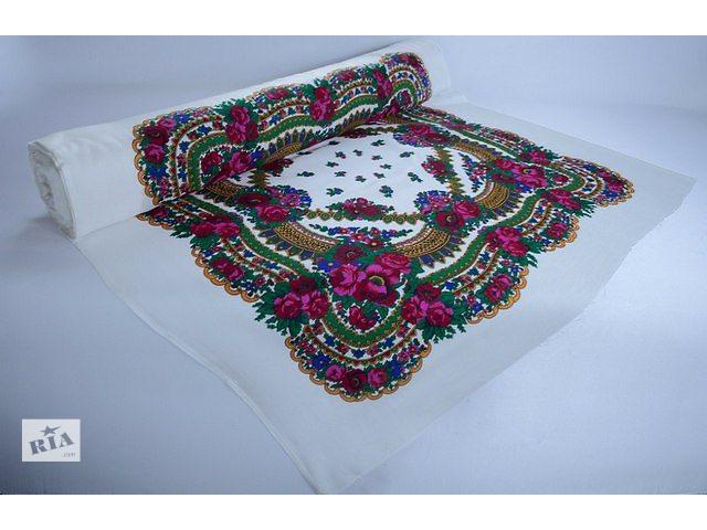 продам Платок большой / Платочная ткань / Бабушкин платок бу в Хмельницком