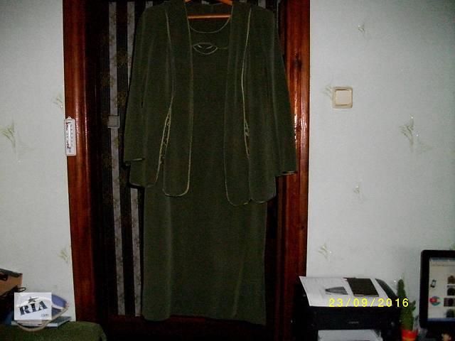 продам Платье+жекет большого нозміру бу в Маневичах
