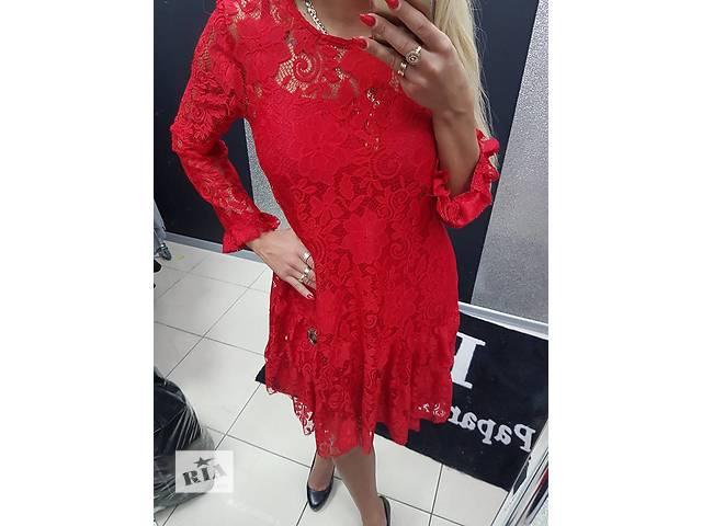 Платья с гипюром Paparazzi Fashion- объявление о продаже  в Киеве