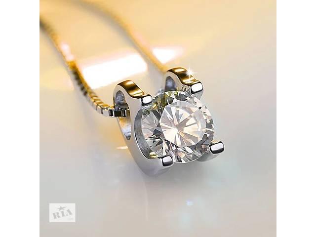бу Платиновое колье с бриллиантом в Харькове