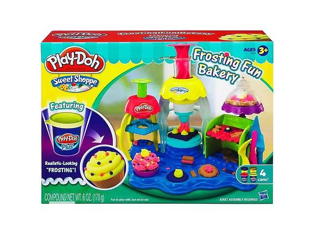 купить бу Play Doh Игровой набор фабрика пирожных в Одессе
