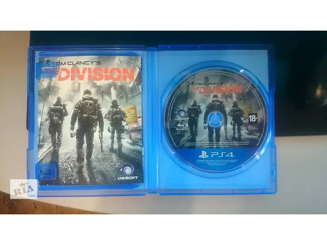 продам PlayStation 4 500 ГБ +Tom clancy's The Division бу в Киеве