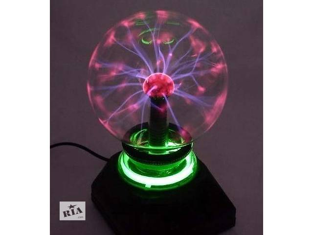 Плазменный шар — Plasma ball 5″, детский светильник Плазмабол- объявление о продаже  в Николаеве