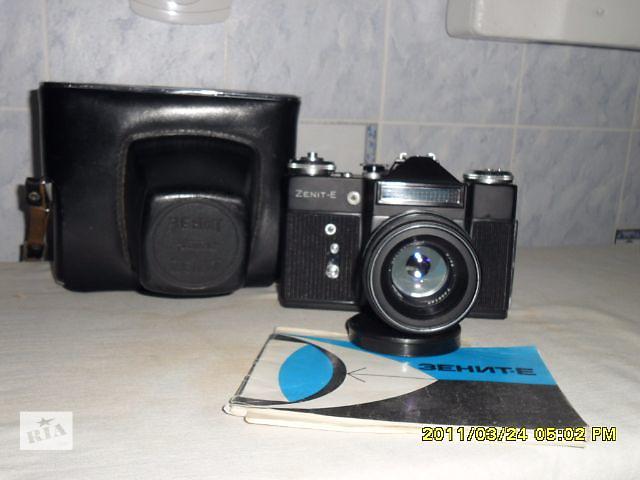 """продам Плёночный зеркальный фотоаппарат """"Zenit-E""""1977г.Экспортный вариант. бу в Чернигове"""