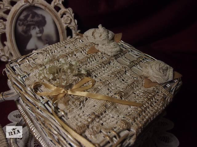 продам Плетеный короб для рукоделия бу в Киеве