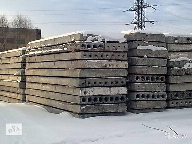Плита пустотная перекрытие 58;59 - объявление о продаже  в Харькове
