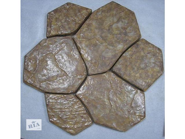 Комплект 6 каменів 1 м.кв. - 3 комплекти 1 м.кв. - 84 кг Може бути виконана у будь-якому кольорі.- объявление о продаже  в Гнивани