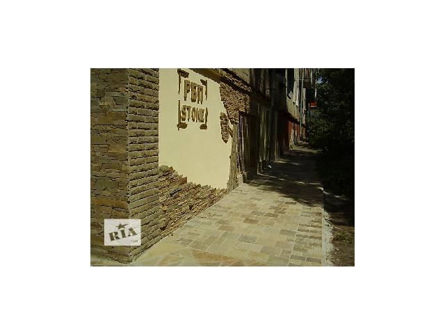 купить бу Плитка из натурального камня - песчаника в Печенегах