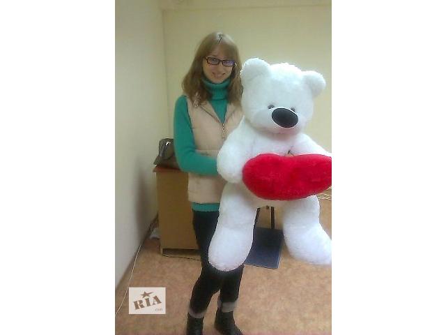 продам Плюшевый медведь с сердцем бу в Черноморске (Ильичевске)