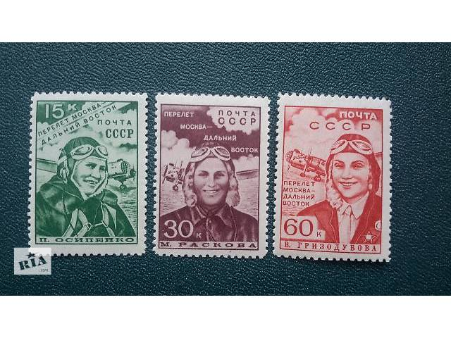 бу Почтовые марки СССР 1930-1950 годов. Полные серии. в Киеве