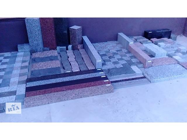 под заказ выполним объем по изготовлению плитки, брусчатки и других отделочных материалов из гранита- объявление о продаже  в Киеве