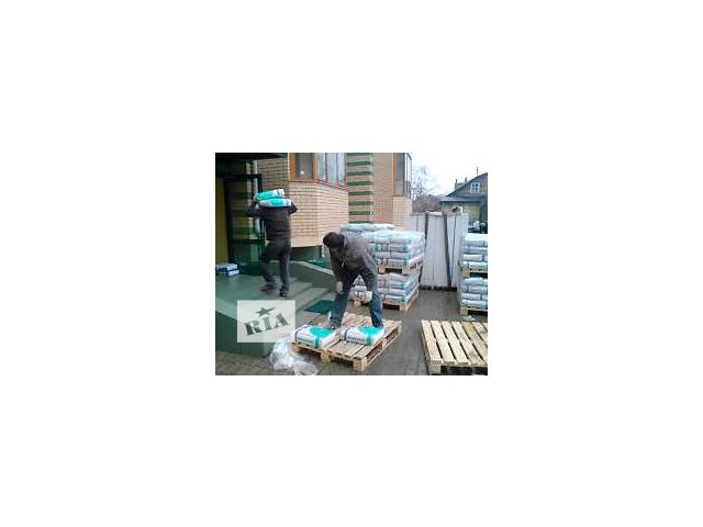 бу Подъем стройматериалов на этаж.Погрузка, вывоз строительного мусора. в Киеве