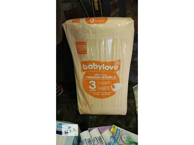 Подгузники Babylove (размеры 3, 4, 4+, 5) Германия- объявление о продаже  в Ужгороде