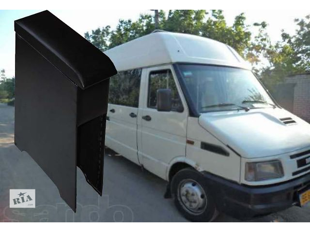 купить бу Подлокотник автомобиля Iveco Daily. Изготовлен из ДСП комбинированного с фанерой, перетянут кож замом. Качественно, быст в Львове