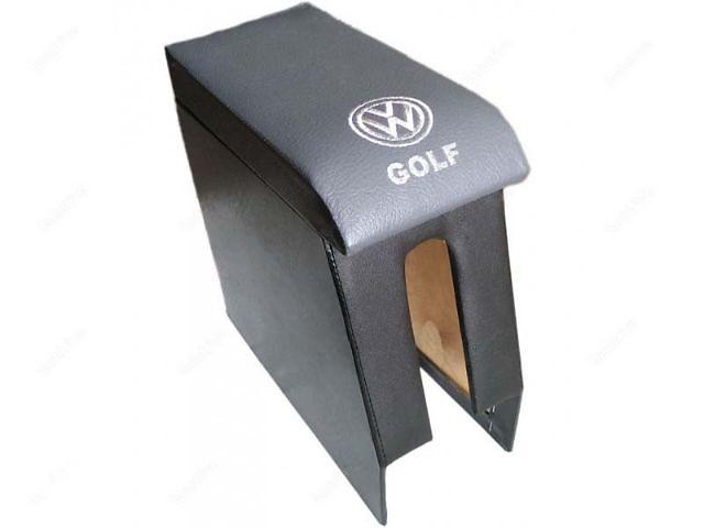 купить бу Подлокотник на гольф 3 очень надежный и качественный. Описание - снаружи дерево перетянутое кожвини в Киеве