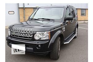 Новые Подножки Land Rover Discovery
