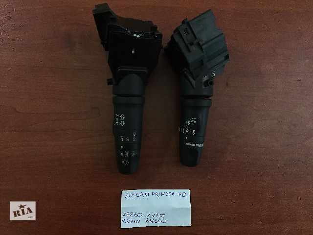 купить бу Подрулевой переключатель Nissan Primera   25260 AV715   25540 AV600  в Одессе
