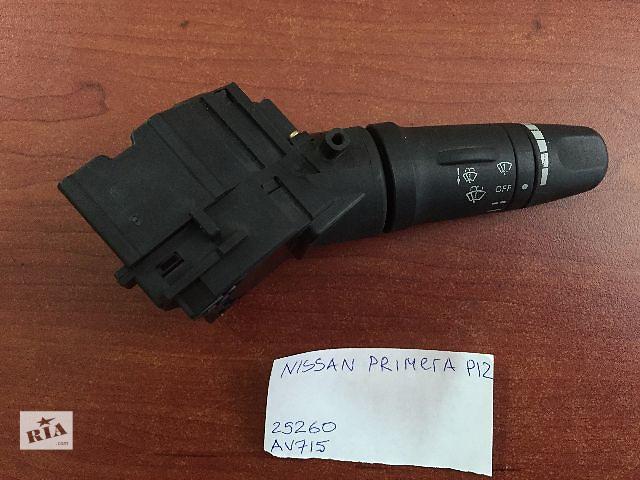 бу Подрулевой переключательNissan Primera  P12   25260 AV715 в Одессе