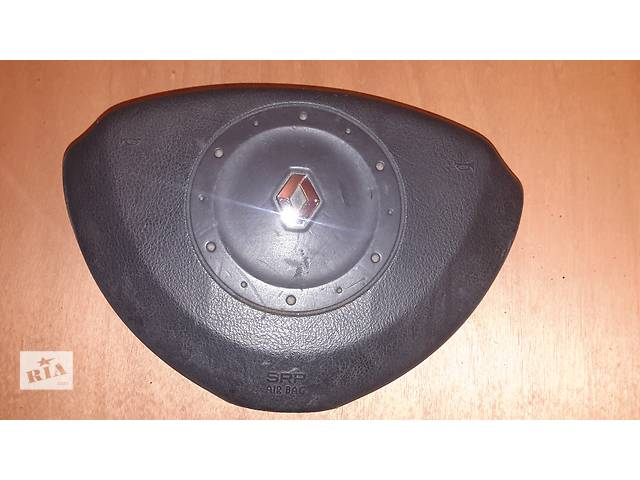 купить бу Подушка безопасности, руль, AIRBAG Renault  Laguna 2 01-05 г. ОРИГИНАЛ в Черкассах