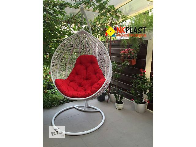 купить бу Подвесное кресло кокон из ротанга Gardi в Днепре (Днепропетровск)