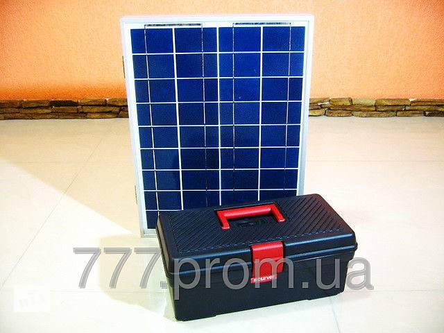 бу Походная мини электростанция на солнечных батареях, банк солнечной энергии 12v для зарядки телефона, планшета в Харькове