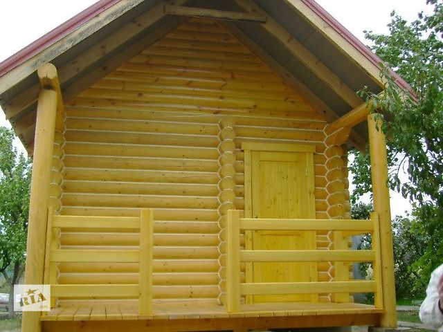 бу ВИПОЛНИМ-Герметизация -шлифовка - покраска деревянного дома в Одессе