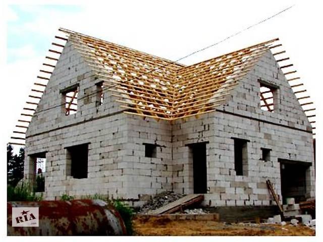 продам Покрівельні роботи, Перекриття дахів, Зведення нових дахів. бу в Тернопольской области