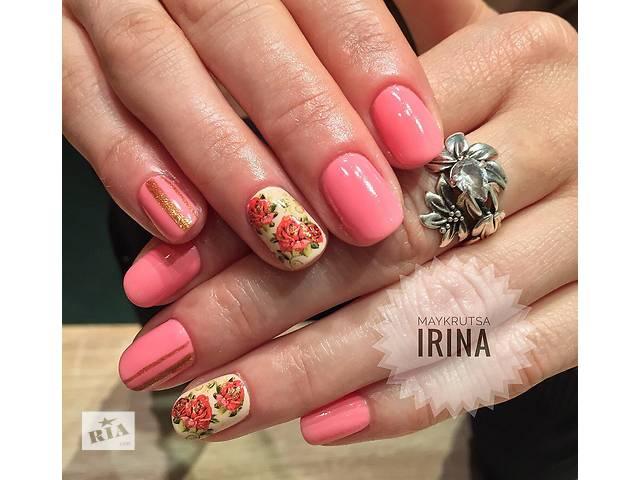 купить бу Покрытие ногтей гель-лаком по низкой цене (м.Дарница м.Черниговская) в Киеве