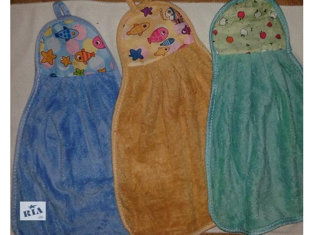 купить бу Полотенца для рук из микрофибры, петелькой в Одессе
