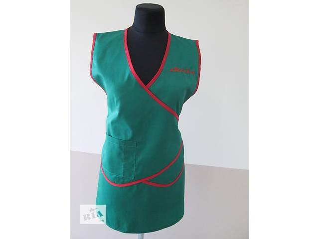 продам Фартук-накидка,фартук-сарафан под заказ,униформа для продавцов бу в Чернигове