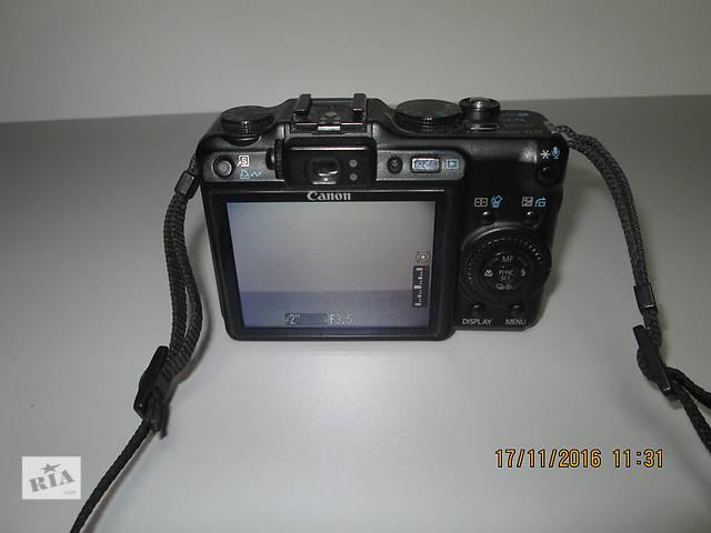 купить бу Полупрофессиональный фотоаппарат Canon PowerShot G9  в Нежине