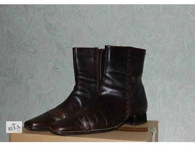 бу Полусапожки осенне-весенние кожаные 38 размер производство Италия . в Харькове