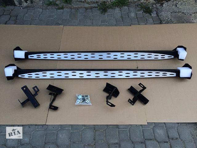 Пороги боковые Toyota Rav 4 (Mercedes style)- объявление о продаже  в Луцке