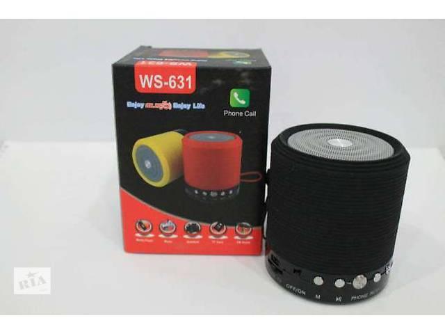 бу Портативная колонка Bluetooth, MP3, USB, радио WS 631 в Киеве