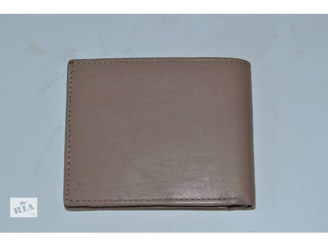 продам Портмоне/кошелек натуральная кожа светлобежевый бу в Виннице