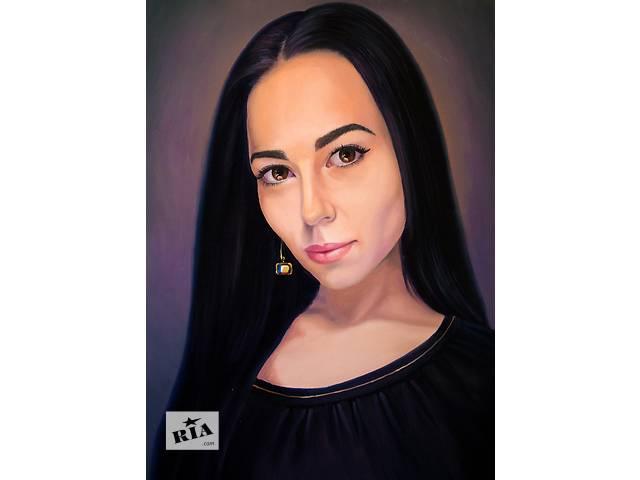 Портрет маслом по фото- объявление о продаже  в Николаеве