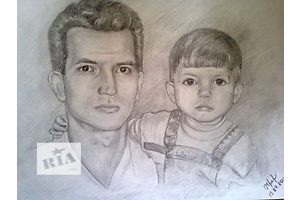 Портреты по фото под заказ)