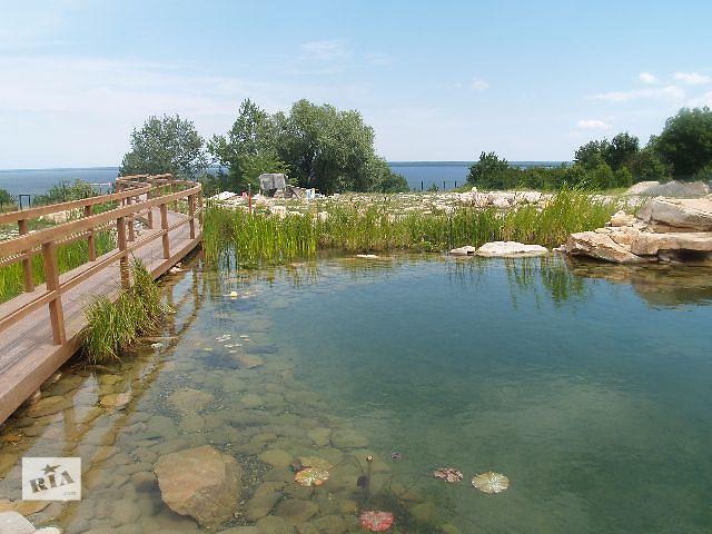 купить бу Построим плавательный пруд  в Украине
