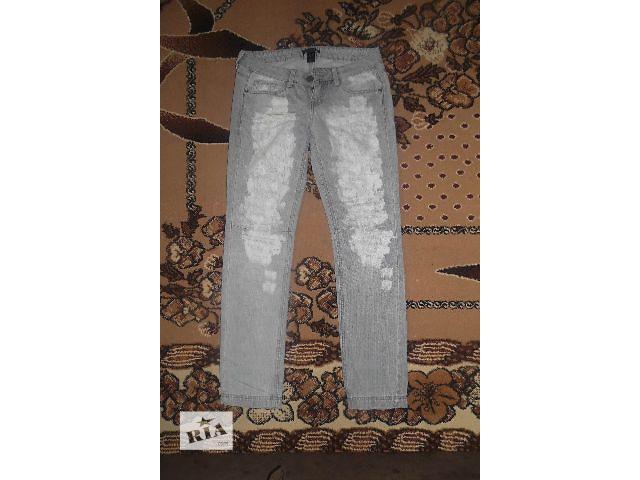 бу Потертые женские джинсы Mango Collection в Киеве