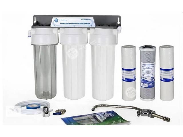 бу Тройная система очистки воды Aquafilter FP3-2 в Ивано-Франковске