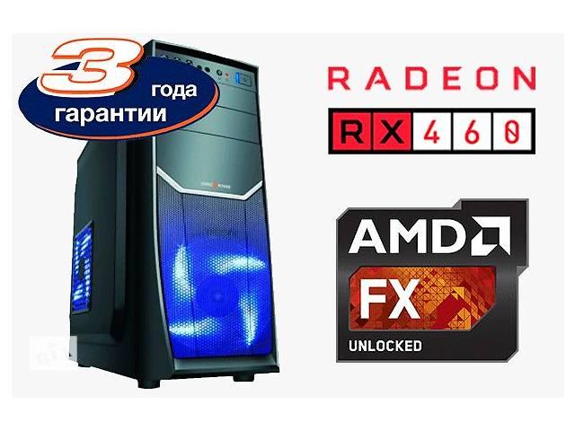продам Потужний AMD FX-4320 4.2Ghz/ ВIДЕОКАРТА Radeon RX 460 GDDR5 / гарантія бу в Днепре (Днепропетровск)