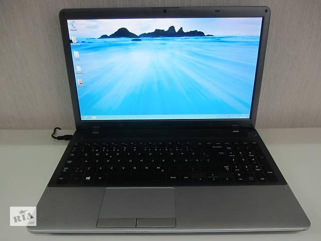 купить бу Потужний ігровий 4 ядерний ноутбук Samsung 355V ОЗУ DDR3- 2 Гб в Тернополе