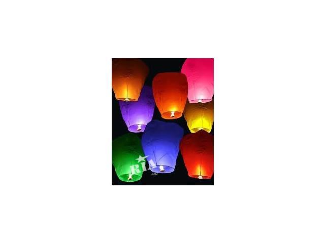 купить бу Воздушные фонарики Львов, небесные фонарики Львов, китайские фонарики Львов, бумажные фонарики Львов в Львове