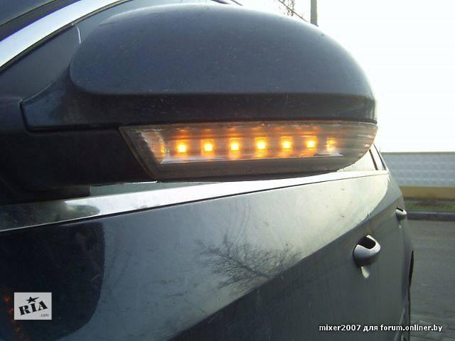 купить бу Поворотник для левого зеркала Volkswagen Passat B6 в Киеве