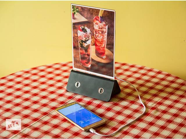 Power bank menu Зарядное устройство с меню-холдером- объявление о продаже  в Львове