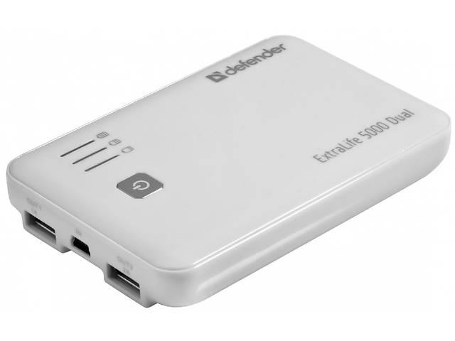 продам Power Bank УМБ Defender ExtraLife 5000 Dual 5000 mAh White бу в Киеве