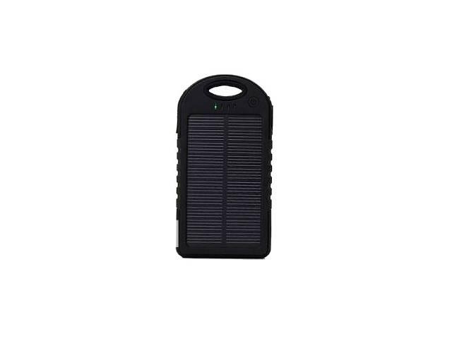 купить бу Солнечное портативное зарядное устройство Solar Power bank 20000 в Киеве