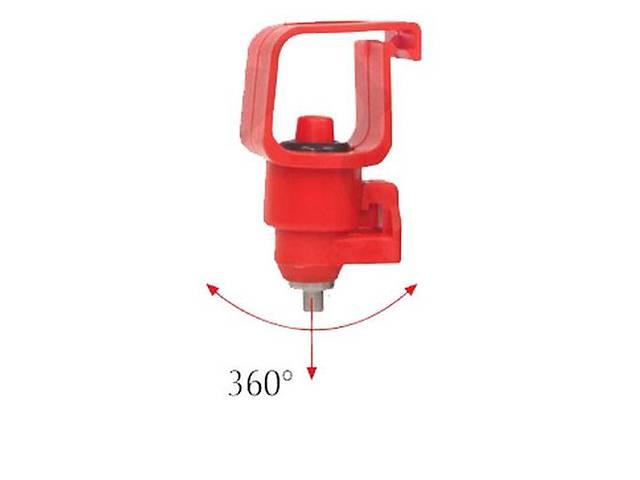 продам Поилка ниппельная с криплением на квадратную трубу 22х22 (Универсальная) бу в Нетешине