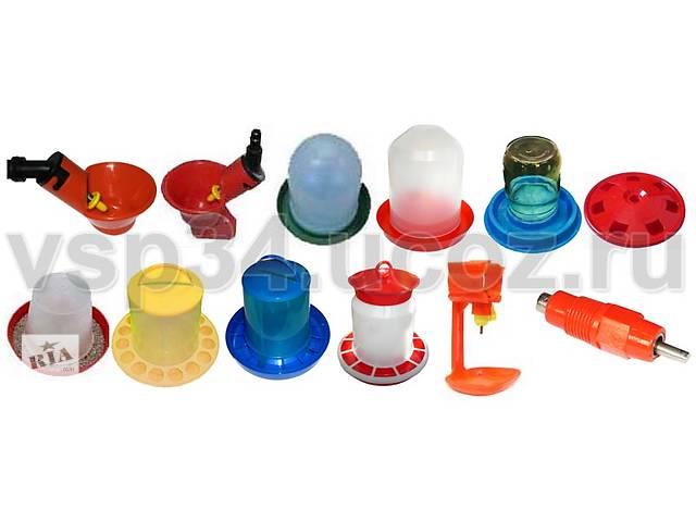 Поилки кормушки для перепелов куриц бройлеров индюков уток - объявление о продаже  в Симферополе