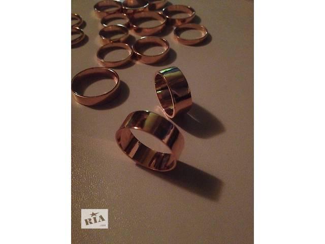 Позолоченные обручальные кольца - объявление о продаже  в Новой Водолаге